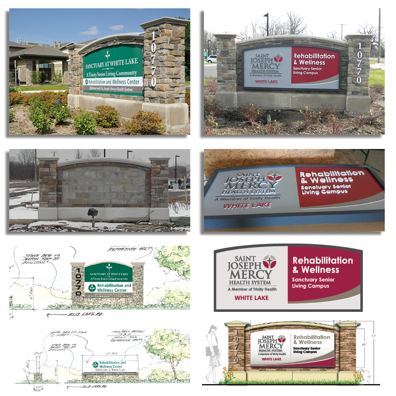 White Lake Outdoor Signage